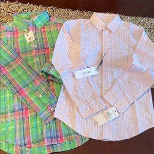 Boys Dress shirts Ralph Lauren and Calvin Klein